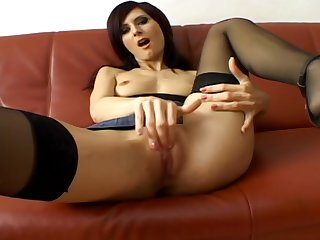 Babe At Auditions Spreads And Plays With Her Pussy
