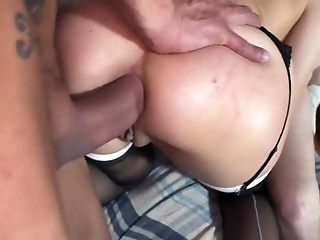 Naughty pornographystar in exotic assfuck, 3 ways pornography vignette