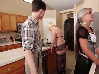 Mother and Stepsis Three-Way certificate brainwash - Leilani Lei Fifi Foxx