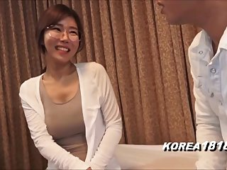 korean glasses girl about japanese porn