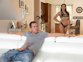 Abella's Big-Cock Pussy & Anal Roger