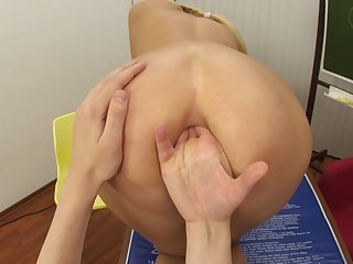 Sodomized Fantasies Adjacent to Blondie Schoolgirl - Teena Dolly