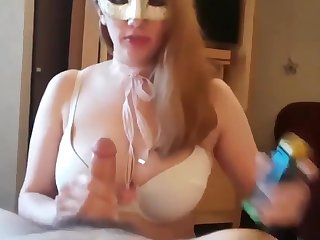 Gorgeous animal chunky titty wife blowjob and cum