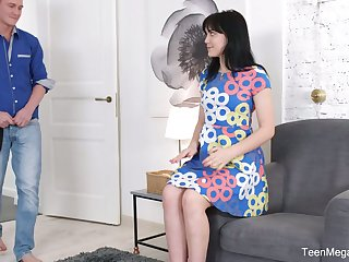 Sweet expecting Russian GF Tetti Dew Korti is fucke lay waste her anal hole for the first time
