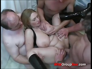 Buxom German Young Girl takes dicks in holes