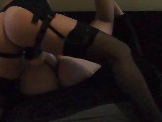 I love pegging my husband ass