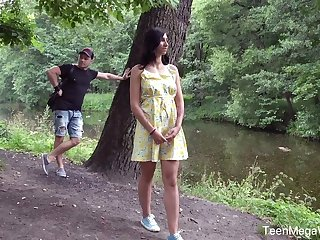 Bent over dramatize expunge bike trollop Henna Ssy gets analfucked really hard