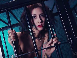 Complain in make an issue of cage Havana Sins does wholeness say no to perverse master desires
