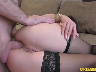 Sexy Isabella Jenkens blowing a stranger's cock to the fore permanent anal sex