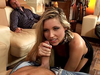 Cherry Jul craves for team a few chubby penises deep inside her shaved holes