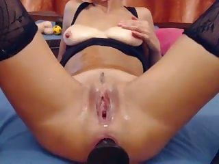 buttplug and hardcore squirting live on webcam