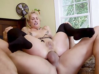 BDSM trio with hotties Cherie DeVille and Gina Valentina