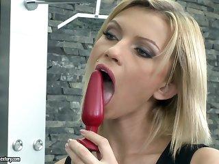 DP slut Karina sucking and fucking alongside the hottest hardcore compilation