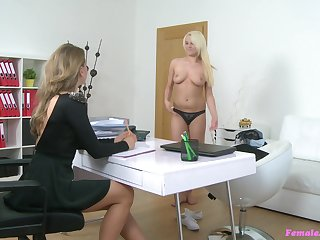 Deep anal toying painless a part be useful to the labour interview with Lucy Shine