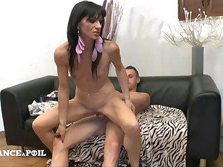 Linda 36 Yo, Raunchy Darkhaired Babe Gets Anal