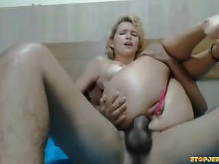 Slinky Brazillian Blond Hair Tot Cougar Feeds Say no to Hungry Breech Fucking Hole A Bbw Unearth