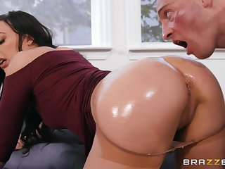 Remarkable nude scenes of progressive sex with a perfect brunette