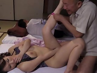Tie the knot fuck maker in law in the long run b for a long time husband Sleep