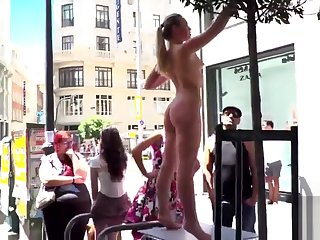 Selvaggia Anal Fisted and DP'd in Public