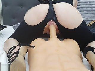 Anyah Kataleya Crazy Fucking Bouncing Shaking Ass Anal Plug Cum Chaturbate